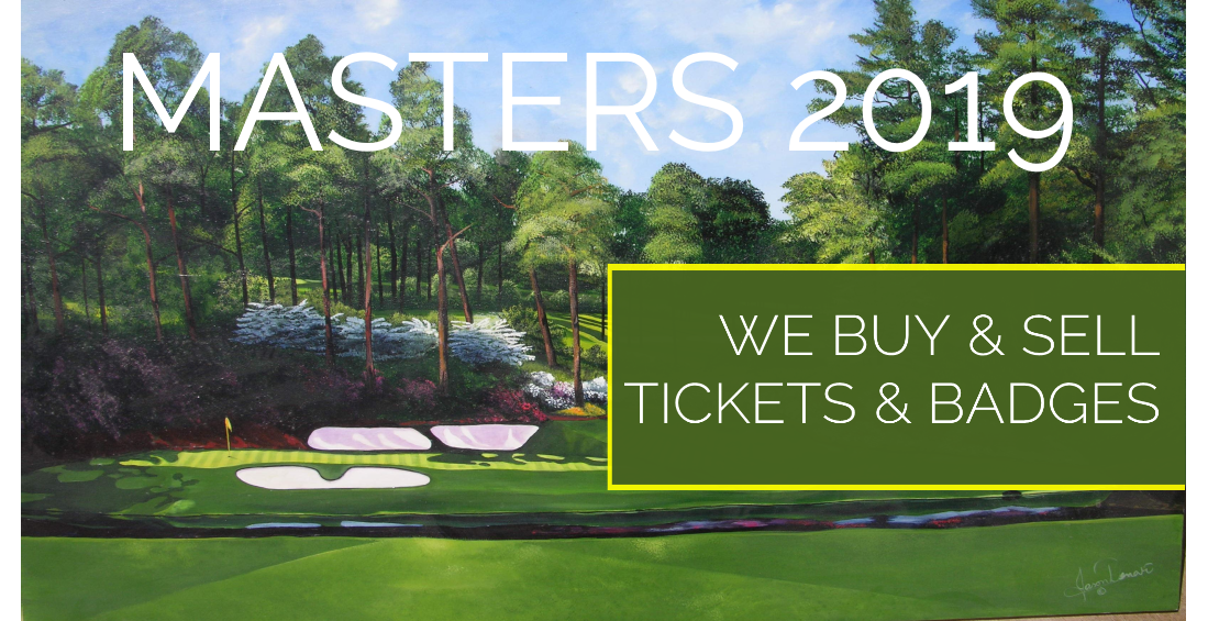 Masters Tournament Tickets